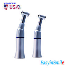 New Listing2 Dental Contra Angle Push Button Slow Low Speed Handpiece E Type Ce Easyinsmile