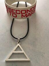 30 SECONDS TO MARS Triade Collana E Bracciale Braccialetto in Silicone Echelon UK