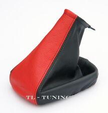 Schaltsack Schaltmanschette passend für OPEL TIGRA TwinTop Bj. 04-10 Rot-Schwarz