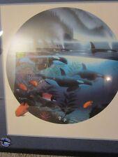 Wyland ORCA Moon Lite Journey Print