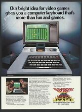 ODYSSEY 2 video game by Magnavox 1980 Vintage Print Ad
