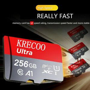 KRECOO 256GB 128GB 64GB Speicherkarte Class10 275MB/S Micro Memory SD card Neu