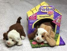 HASBRO FurReal Friends Snuggimals NEW Rare Long-Eared Puppy plus Puppy Friend
