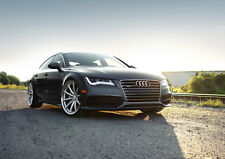 "AUDI A7 NEW A4 CANVAS GICLEE ART PRINT POSTER 11.7"" x 8.3"""