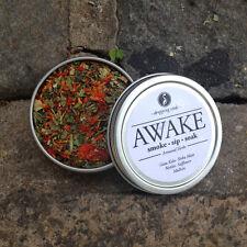 AWAKE Legal, Organinc, Herbal Smoking Blended Tea • Smoke | Sip | Soak