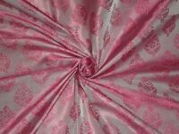 BROCADE FABRIC Pink Colour