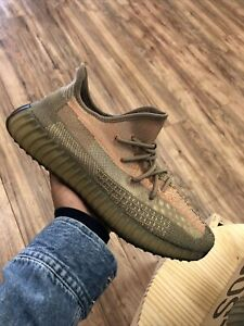 Adidas Yeezy Boost 350 V2 Sand Taupe Size 12 (FZ5240) Og All Brand New