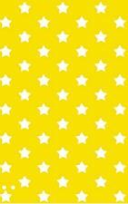 Klebefolie Sterne gelb Stars Möbelfolie selbstklebend moderne Folie 45 x 200 cm