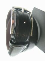 """5.5 mm thick wall Sterling silver 925 solid buckle 62 grams for 1.5/"""" belt strap"""