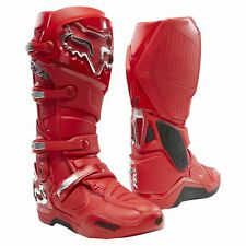 Fox Racing Instinct Prey Boots Mx - Flame Red All Sizes