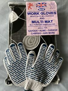 Work Gloves And Multi Mat