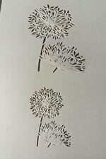Flower Plant Mylar Reusable Stencil Airbrush Painting Art Craft DIY