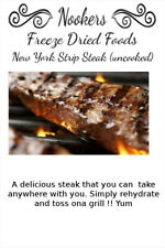Freeze Dried Food - New York Strip Steak 6 oz. - Camping - Survival