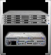 SUN FIRE X4270 2x INTEL XEON X5570 QUAD CORE 2,93GHZ 16 GB DDR3 RAM ORACLE RACK