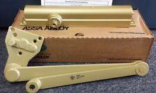 Norton CLP8501 Heavy Duty Door Closer with CloserPlus Arm Satin Brass 696