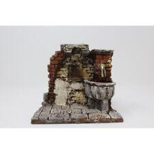 Presepe napoletano fontana in resina 13x14x13cm | Presepe artigianale - napoleta