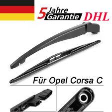 Heckwischerarm Hinten + Scheibenwischer Wischblatt | Für Opel Corsa C | DHL