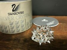 Swarovski Crystal Hedgehog 013989 7669 035 000 with box cert