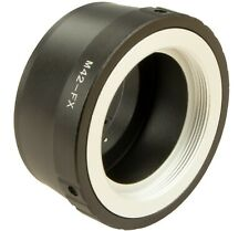 M42 Mount Lens to Fujifilm X Mount Adapter Ring pour Fuji X-A7 X-A5 X-A3 X-A2