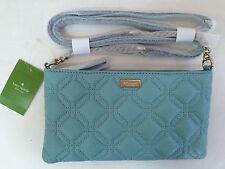NWT Kate Spade Presley Astor Court Leather Crossbody Shoulder Bag Blueyonder New