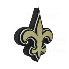 New NFL New Orleans Saints 3D Fan Foam Logo Holding / Wall Sign Made in USA