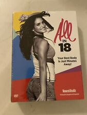 All in 18 Womens Health 7-DVDs Your Best Body Is Just Minutes Away FITNESS *New*
