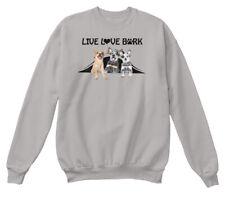 Llb Australian Cattle Dog - Live Love Bark Hanes Unisex Crewneck Sweatshirt