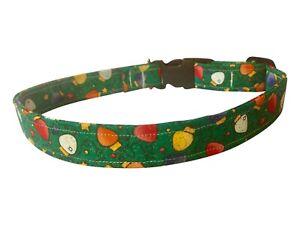 SPIFFY POOCHES Dog Collar CHRISTMAS LIGHTS ~B.O.G.O @ 50% OFF C DESCRIPTION~