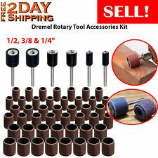 Drum Sanding Kit Set Bits Saw Drill Brush Cutter Dremel Accessories Rotary Tool