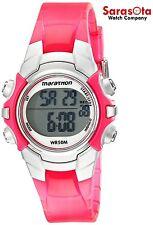 Timex T5K808 Pink/Silver Tone Resin Chronograph Digital Quartz Women's Watch