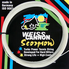 Weiss Cannon SCORPION 17 / 1,22 mm Tennis Stringa Set