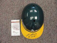 Jose Canseco Signed Oakland A's Athletics Full Size ROY helmet JSA COA