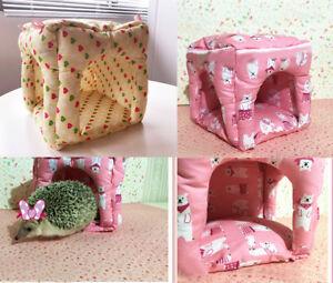 Hammock Rabbit Guinea Pig Hedgehog Ferret Small Animals Hanging Bed Toy House