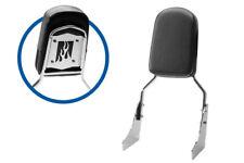 Sissy Bar Backrest Motorcycle Passenger Seat Pad For Honda Shadow Sabre VT1100C2