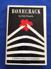 BONECRACK - FIRST AMERICAN EDITION BY DICK FRANCIS