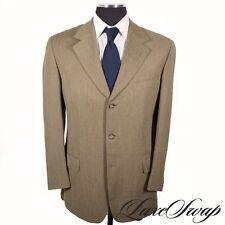 Ermenegildo Zegna Three Button Solid 100% Wool Suits for Men