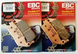 Honda PC800 Pacific Coast (1989 to 1997) EBC Sintered FRONT Brake Pads (FA142HH)