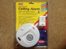 Homewise Ceiling Alarm with remote control. Unused still in original packaging