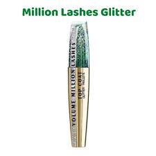 L'Oreal Volume Million Lashes Top Coat NEW Transparent Glitter Gel Mascara