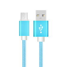 3m Nylon Fast Micro USB Charging Data Cable Lead for Samsung Sony Android Phone Gold for Huawei Mate 8