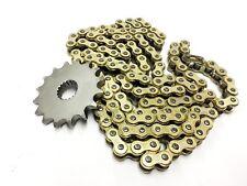Conjunto de cadena y piñón de oro más velocidad superior 16T delantero Direct Bikes Enduro S DB125