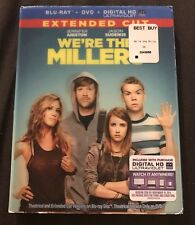 WE'RE THE MILLERS EXTENDED CUT BLU RAY + DVD WITH LENTICULAR SLIPCOVER