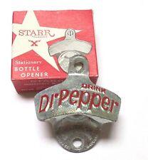 Original vintage starr x dr pepper ouvre-bouteille Montage Mural Bottle Loky