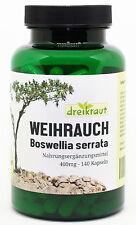 Weihrauch-Extrakt, 140 Kapseln, 400mg,  frei von Zusätzen - deutsche Produktion