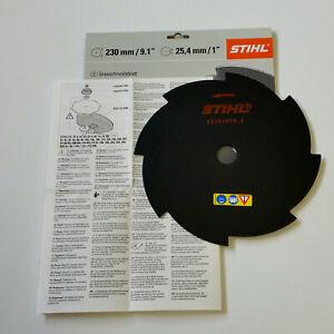 Stihl Grasschneideblatt 8-Zahn 230mm / 25,4mm, 4001 713 3803, FS55,56,70,80 -240