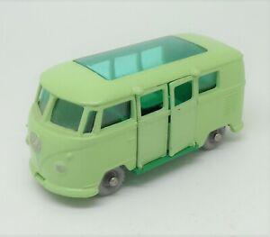 Lesney Moko Matchbox Volkswagen Caravette N° 34 Mint Wheel plastique1/87