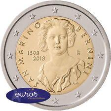 Pièce 2 euros commémorative SAINT MARIN 2018 - Naissance Gian Lorenzo Bernini