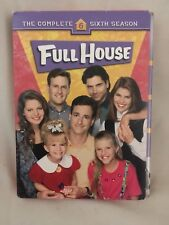 Full House The Complete Sixth 6th Season (DVD, 2007, 4-Disc Set) Very Good Cond
