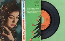 FLOR DE CORDOBA / Villancicos Flamencos / MARFER M. 545 Press Spain 1964 EP VG+