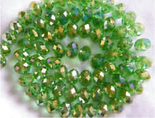 18-2 Crystal Loose Beads 6MM Jewelry Beads DIY AB Green Free Shipping